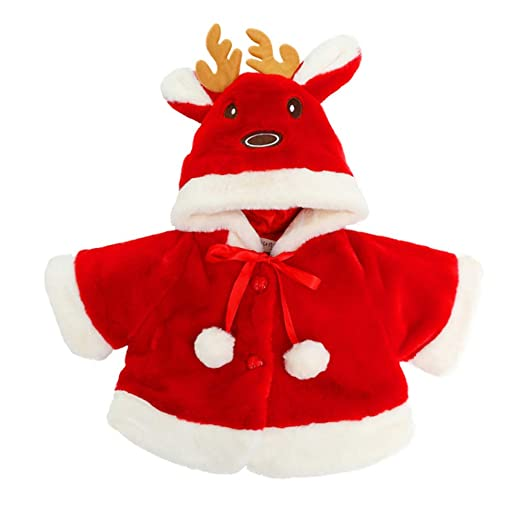 Amazon.com: Kehen Girl Christmas Outfit, Infant Baby Toddler ...