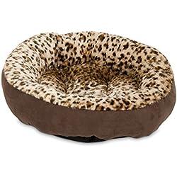 "Aspen Pet Round Bed Animal Print - 18"""