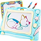 SONiKi 2PCS Magnetic Drawing Board ,Lager Travel Magnet Board and Water Drawing mat
