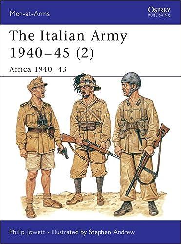 The Italian Army 1940-45 (3): Italy 1943-45 (Men-at-Arms) (v. 3