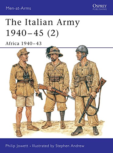 (The Italian Army 1940-45 (2): Africa 1940-43 (Men-at-Arms) (Vol 2) )