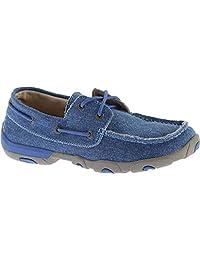 Twisted X Boots Women's WDM0049 Boat Shoe