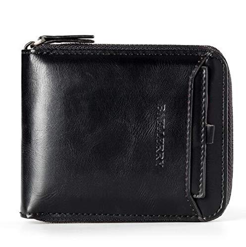 BAELLERRY Baellerry Artificial Leather Men's Wallet (D3124_Black)