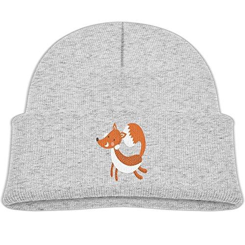 Fox Youth Dirtpaw Gloves (Luck Cartoon Animal The Fox Children's Knit Beanie Warm Cap Unisex Kids Hat For Boys/GirlsOne Size Ash)