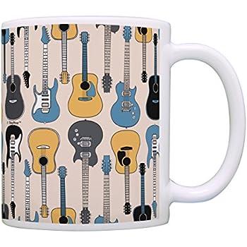 music lovers gifts 3d acoustic guitar mug music teacher mug music themed gift for. Black Bedroom Furniture Sets. Home Design Ideas