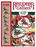 Reindeer Games Cross Stitch Chart and Free Embellishment