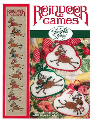 (Reindeer Games Cross Stitch Chart and Free)