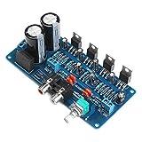DROK TDA2030L UTC Digital Audio Amplifier 34W+34W DC 12-36V/ AC 9-25V BTL Stereo Amp Board 12V/24V, Blue