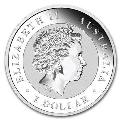 2018 AU Kookaburra One Ounce Silver Coin Dollar Uncircualted Mint