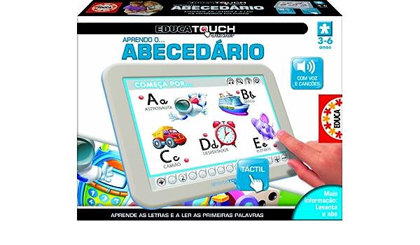 Educa Touch - Junior Aprendo o abecedário, en portugués (15678)