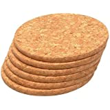 T&G Set of 6 Round Coasters In FSC® Certified Cork