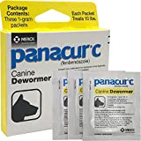 Panacur C Canine Dewormer Dogs 1 Gram (3 Packets) Each Packet Treats 10 lbs