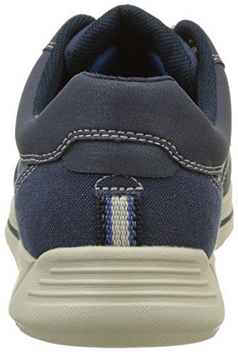 Rockport Randle Moc Toe, Basse Uomo Blu ( Blue)