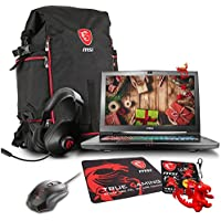 MSI GT73VR TITAN-427 VR-Ready 17.3 Gaming Laptop - Core i7-7820HK (Kaby Lake), GTX1070 8G GDDR5, 16GB RAM, 1TB HDD, Windows 10 + Gaming Bundle
