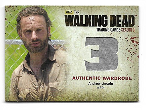 2014 The Walking Dead Season 3 Part 2 Andrew Lincoln as Rick Grimes M38 Wardrobe Card