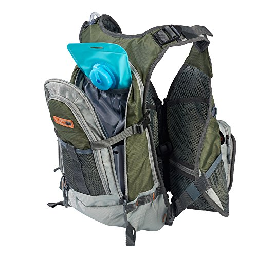 Anglatech fly fishing backpack vest combo premium for Women s fly fishing gear
