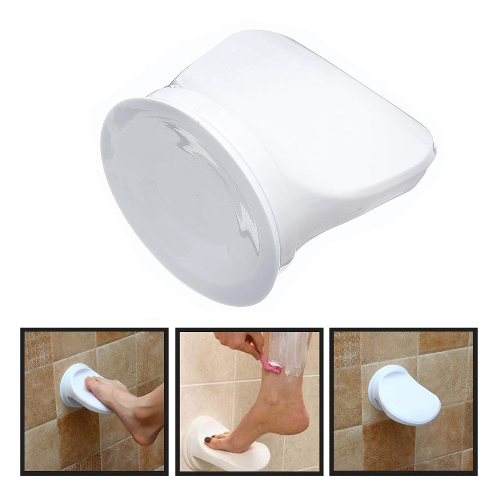 Suction Cup Wall Secure heaven2017 Shower Step//Pedestal Bathroom Foot Rest for Leg Shaving