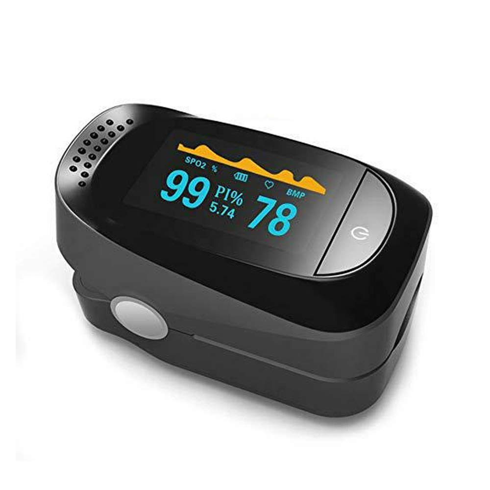 Saturation Monitor for Pulse Rate and SpO2 Level, Suitable for Home, Exercise and Travel Use