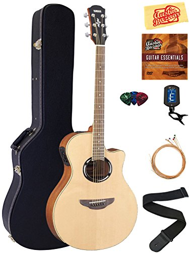 Yamaha APX500II Thinline Acoustic-Electric Guitar (Black) - 1