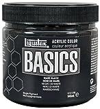 Liquitex BASICS Acrylic Paint 32-oz jar, Mars Black (4332276)