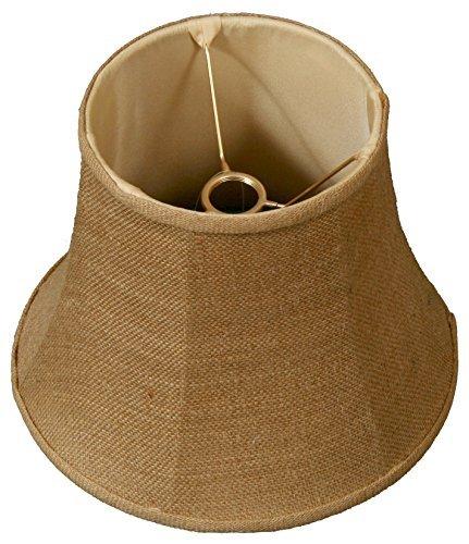 7.5 X 10.5 Light (Royal Designs Modified Bell Lamp Shade, Burlap 7.5 x 12 x 9.5, UNO Floor Lamp)