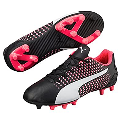 PUMA Boys Adreno Iii Fg Jr, Black, 1 US Football Boots