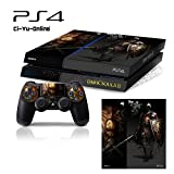 Ci-Yu-Online VINYL SKIN [PS4] Dark Souls III 3 #5 Whole Body VINYL SKIN STICKER DECAL COVER for PS4 Playstation 4 System Console and Controllers