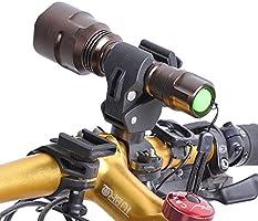 BulzEU Bicicleta Soporte para Flash Linterna Luz Delantera para ...