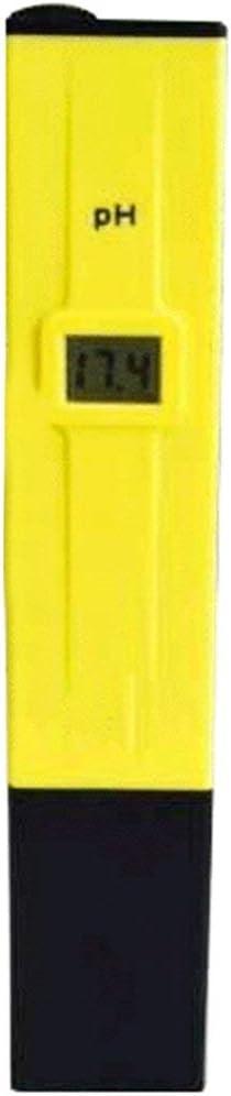 Zinniaya Mini Portable LCD Digital Pen Type PH Meter Tester Pocket Hydroponics Aquarium Pool Water Test Tool Accuracy 0.1
