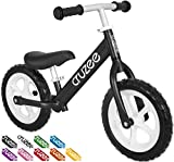 Cruzee Ultralite Balance Bike (4.4 lbs) for Ages 1.5 to 5 Years | Best Sport Push Bicycle for 2, 3 & 4 Year Old Boys & Girls – Toddlers & Kids Skip Tricycles on The Lightest First Bike