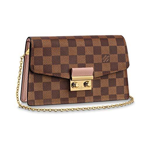 Louis Vuitton Damier Ebene Canvas Croisette Wallet Bag Article: N60287