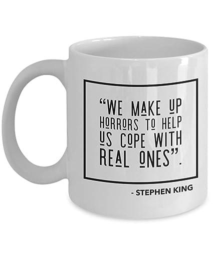 Amazoncom Stephen King Coffee Mug Quote Movie Books Women Man
