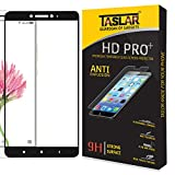 Taslar™ Full Tempered Glass Screen Guard Protector With Edge-to-Edge Coverage For Xiaomi Mi Max 2,(Black)