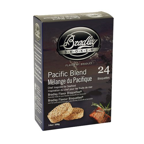 (Bradley Smokers Pacific Blend Bisquettes, 24-Pack )