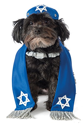 Costumes Holiday Dog (Rubie's Yarmulke and Tallis Dog)
