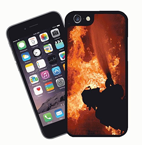Fireman Firefighter - This cover will fit Apple model iPhone 7 (not 7 plus) - By Eclipse Gift Ideas