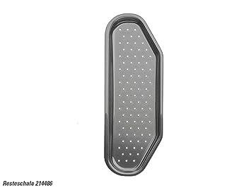 Blanco 214486 Resteschale Siebschale Kuchenspule Kunststoff Grau