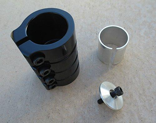Bolt Compression - DIS SCS Scooter Clamp 4 Bolt Black
