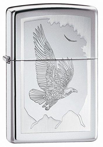 - Zippo Birds of Prey - High Polish Chrome