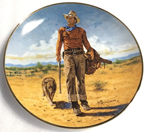 JOHN WAYNE Hondo Lane, Cavalry Scout Franklin Mint Porcelain Collector Plate