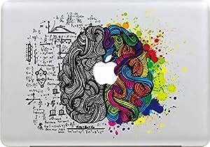 Sticker Adhesivos Macbook, Morbuy Desprendibles Creativo Colorido Art Calcomanía Pegatina para Apple MacBook Pro / Air 13 Pulgadas (H)