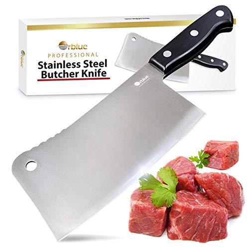 Orblue Premium Meat Cleaver