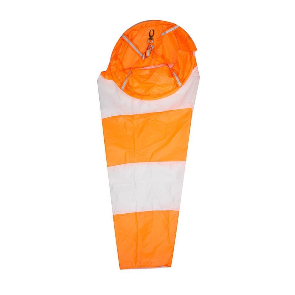 Lembeauty Impermeabile Windsocks rip-Stop Outdoor Vento Misura calzino Bag con Cintura Riflettente per aeroporto, Giardino, Patio, Prato, A:80cm