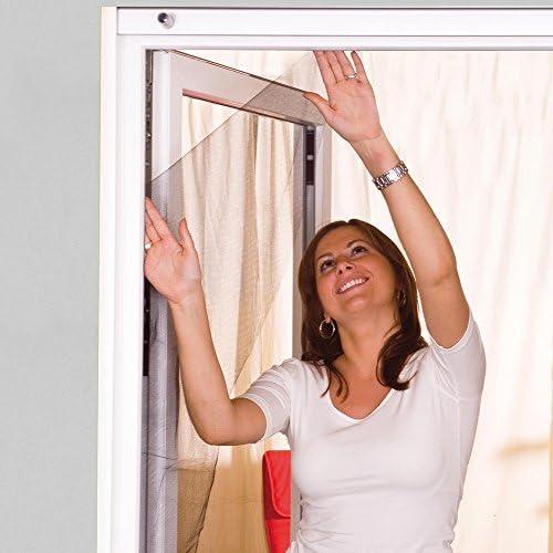 Mosquitero de protección para ventanas de 110 x 130 cm ajustable ...