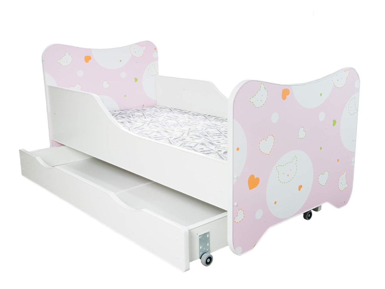 ELF Letto singolo 160x80 BAMBINO CAMERETTA LETTINO bambini con materasso 30 COLORE!!! CASSETTO !!
