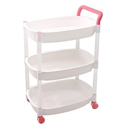 office trolley cart. SUNLIGHTAM 3 Tier Kitchen Trolley Cart Storage Racks On Wheels Bathroom Bedroom Office Holder Organizer Desk