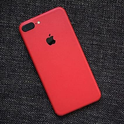 free shipping 93e7c 3a104 GADGETS WRAP Apple iPhone 8 Plus Red Matte Skin for: Amazon.in ...