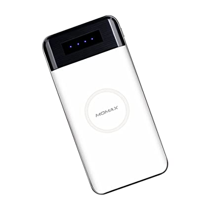 Amazon.com: Cargador inalámbrico Power Bank, Momax 10000 mAh ...