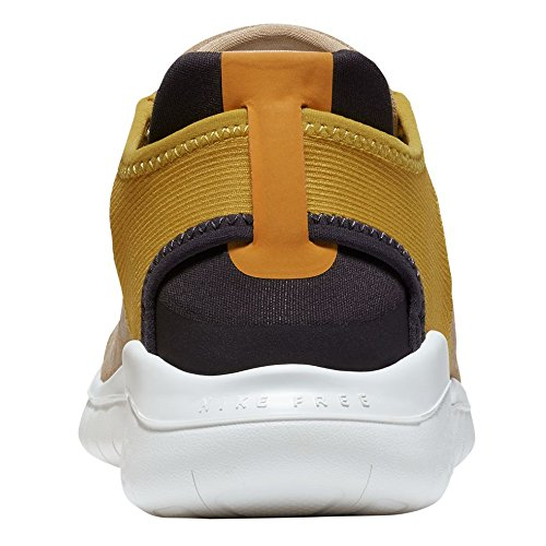 Nike W Rn Vrije 2.018 Wild Suède Vrouwen Aq0562-200 Desert / Olie Grijs-oker