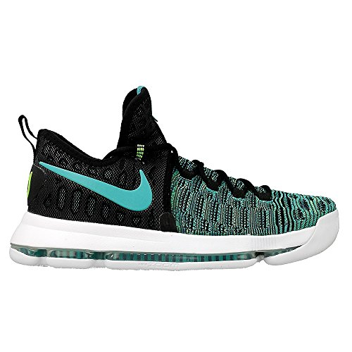 Nike Zoom KD 9 (Birds Of Paradise) Black/Jade Clear-White (8)